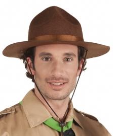 Texas hoed bruin