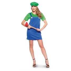 Super Luigi dames jurkje