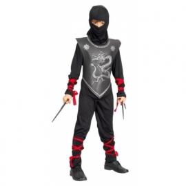 Ninja pak zwart/rood