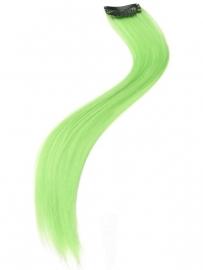 Haarverlenging neon groen