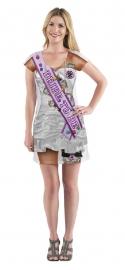 3D jurk Vrijgezelle