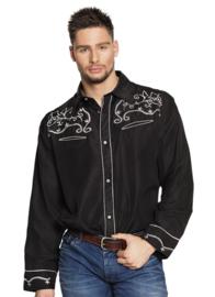 Western shirt black