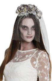Tiara Zombie skulls