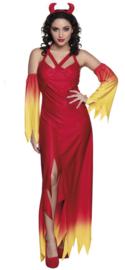 Devil halloween jurk