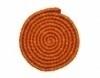 Wolcrepe oranje 100cm