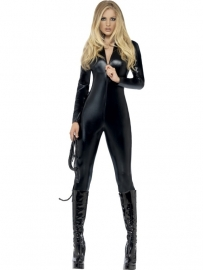 Catsuit fever miss black