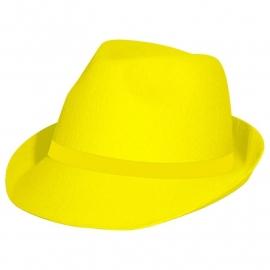 Neon hoed Geel