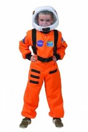 Astronaut oranje kind