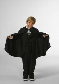 Dracula´s cape zwart
