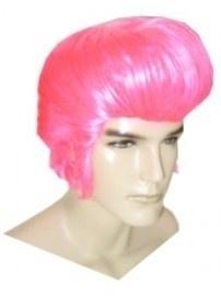 Elvis Roze Pruik