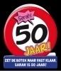 Fun wenskaart 50 jaar Sarah