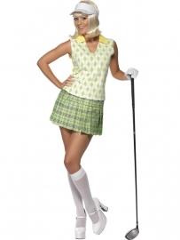 Golfspeelster kostuum