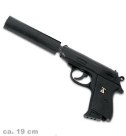 007 pistool met demper