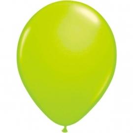 Groene neon ballonnen