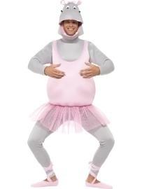 Ballerina nijlpaard funkostuum