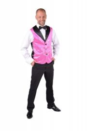 Vest pailletten pink deluxe