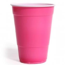 Amerikaanse bekers roze