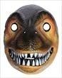 Dinosaurus masker bruine reptiel