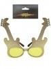 Rock bril gitaar