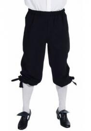 Zwarte markies broek