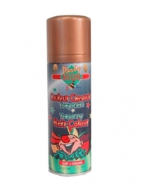 Haarspray / Hairspray glitter goud