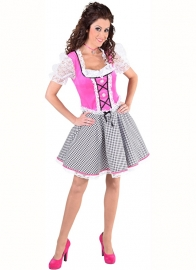 Dirndl nicky jurkje pink
