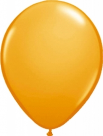 Mini ballonnen 13 cm oranje