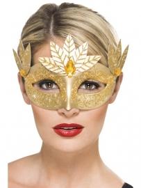 Romana oogmasker goud