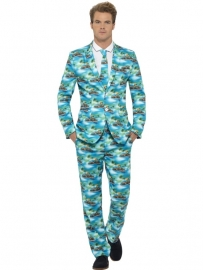 Kostuum tropical design