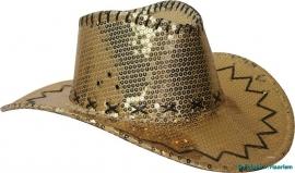 Cowboy hoed goud