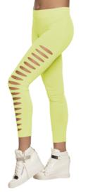 Legging Gaps neon geel