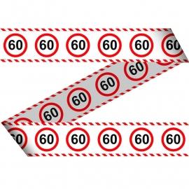 Markeerlint 60 jaar verkeersbord
