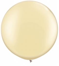Ballonnen 3ft ivoor parel metallic