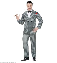 Gangster 20's krijtstreep kostuum