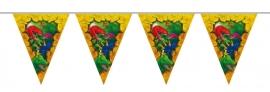 Dinosaurus vlaggenlijn