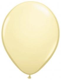 Mini ballonnen 13 cm ivoor