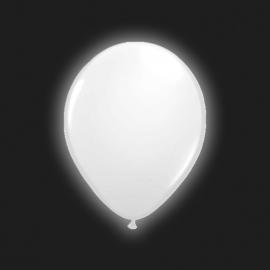 Ballonnen wit met Led