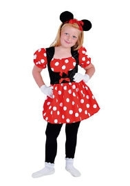 Luxe jurk Minnie mouse