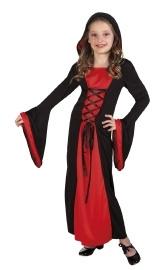 Jurk halloween meisje vampier