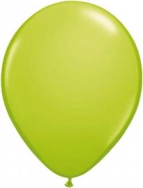 Mini ballonnen 13 cm appelgroen