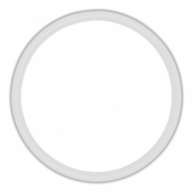 Witte bordjes 8 stuks