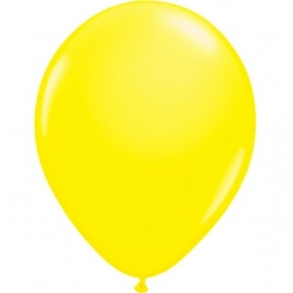 Gele neon ballonnen
