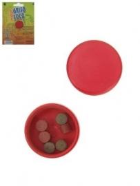 Gekleurd water tabletten