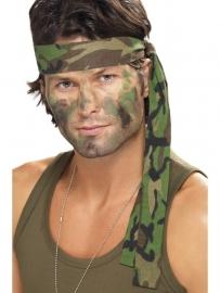 Camouflage hoofdband