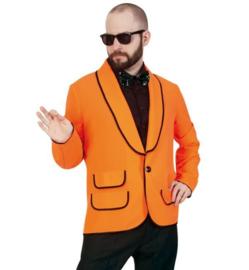 Neon oranje colbert