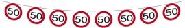 Slinger 50 jaar vekeersbord