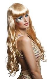 Pruik oceana blond