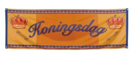 Banner Koningsdag 74x220cm