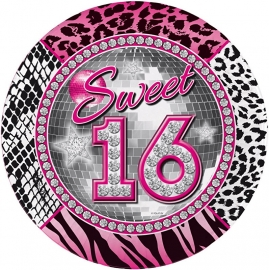 Sweet 16 bordjes