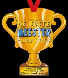 Party trofee Meester